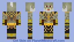 Commander Thorak - World of Warcraft Minecraft Skin