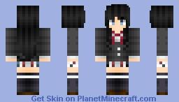 Yukino Yukinoshita (Oregairu 2) Minecraft Skin