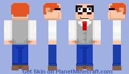 Mort Goldman Minecraft Skin