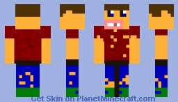 Hobo/Teenager Minecraft Skin