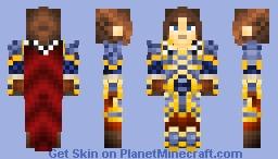 Varian Wrynn | King of Stormwing [{WoW}] Minecraft Skin
