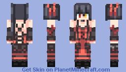 Tokisaki Kurumi Spirit(ᅌᴗᅌ* ) Minecraft Skin