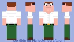 Peter Griffin Minecraft Skin
