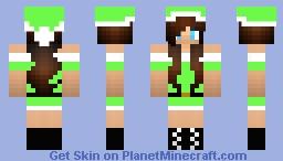 neon X-mas Minecraft Skin
