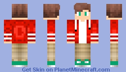 Red Jacket Minecraft Skin