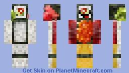 Sushi Man Minecraft Skin