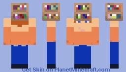 Mini Me - Book Case Minecraft Skin