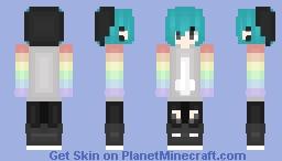 ~~LGBT Pride~~ Minecraft Skin