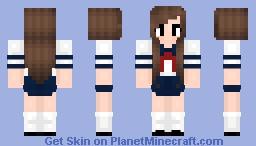 Halloween skin- Yandere inspired outfit Minecraft Skin