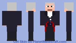 The 12th Doctor Minecraft Skin
