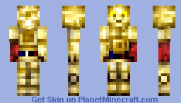 C-3PO [The Force Awakens] Minecraft Skin