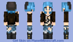 Chloe Price - Life is Strange - Other outfit Minecraft