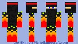 Fire ninja Minecraft