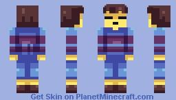 Undertale: Frisk Minecraft Skin