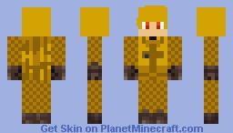 Garroth Halloween Minecraft Skin
