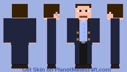 Captain Jack Harkness Minecraft Skin
