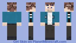 Yūichi Jin (World Trigger) Minecraft Skin