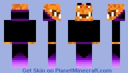 halloween pumpkin Minecraft Skin