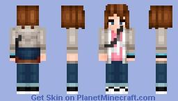 Life Is Strange... Max Caulfield (Better In 3d) Minecraft Skin