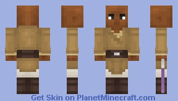 Mace Windu - Star Wars Minecraft