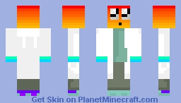 Dr. Rainbow Minecraft Skin