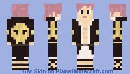 Fairy Tail Natsu Dragneel Skin Minecraft Skin