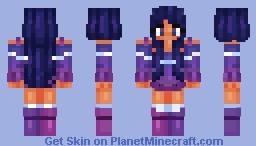 ✦galexies✧*゚*.:。 Minecraft Skin