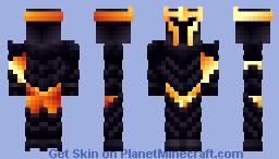 Obsidian Knight (Recolors in description) Minecraft Skin