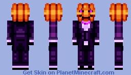 Pumpkin Spice [Happy Halloween] Minecraft Skin