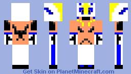 Rey Mysterio Minecraft Skin - Skin para minecraft pe rey