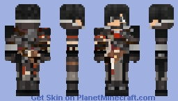 Vampire Hunter Level 3 Minecraft Skin