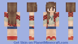 Female BajanCanadian Minecraft Skin