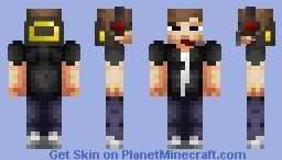 Another Teen Boy Gaming Skin (My Version) Minecraft Skin