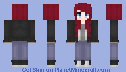 Spirit Evans ~+= OC=+~ Minecraft Skin