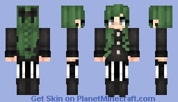Have a very fashionable spooky Holloween! Minecraft Skin
