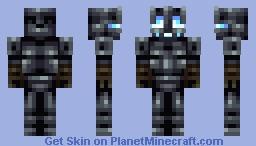 The Midnight Knight Minecraft Skin