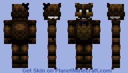 FNaF Freddy Fazbear (Halloween edition) Minecraft Skin