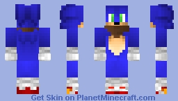 sonic the hedgehog [sonic boom] Minecraft Skin