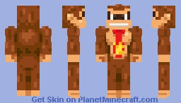 Donkey Kong: Donkey Kong Country (New Alternates in Description! Dec 6, 2019) Minecraft Skin