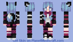 Akira The Neko Minecraft Skin