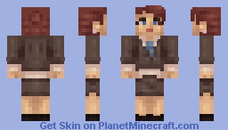 Business Girl ( Remade ) Minecraft Skin