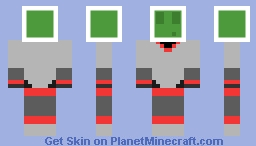 Slime Astronaut Minecraft Skin