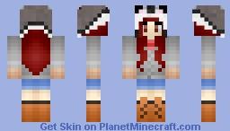 * ~* Winter Girl ~ Husky Hat ~ *~* Minecraft Skin