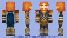 Thor Remake (Smite) Minecraft Skin