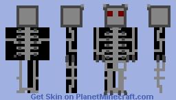 That one eyeless endoskeleton Minecraft Skin