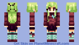Green Tea [Now with Trousers too!] Minecraft Skin