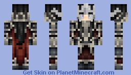 [•SK•] - Female Knight - [Help from my IRL BFF Hannah!] Minecraft Skin
