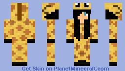 Giraffe Girl Minecraft Skin