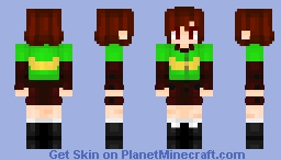 Chara - Undertale Minecraft