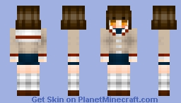 ◊ εηchαℵτε∂ ◊ - Skin trade with popchkn - Nagisa Furukawa Minecraft Skin